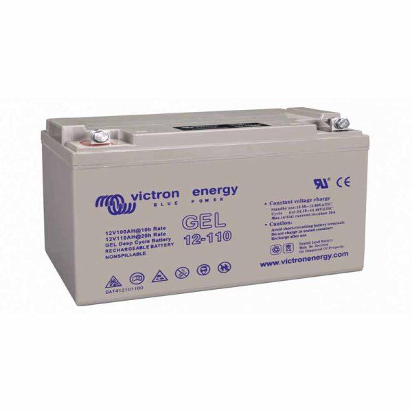Vitcron Batterie 110 Ah Gel Deep Cycle