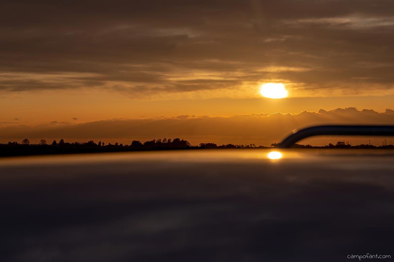 Bootstour Sonnenuntergang Aaltje