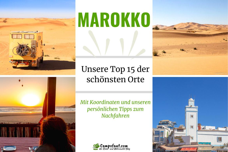 Top 15 schönste Orte in Marokko