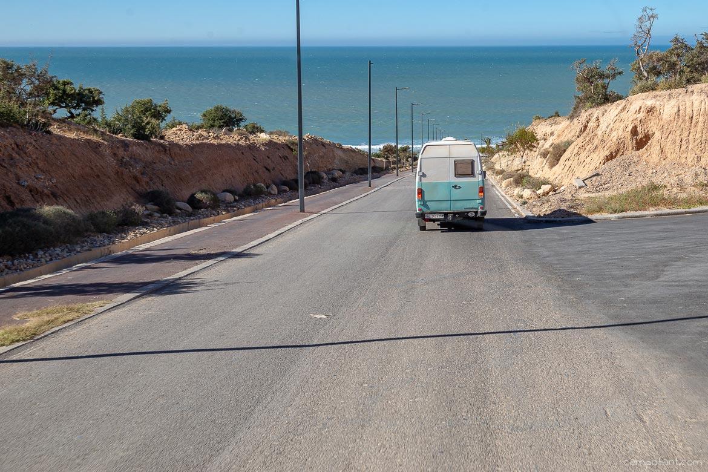Straße nach Taghazout