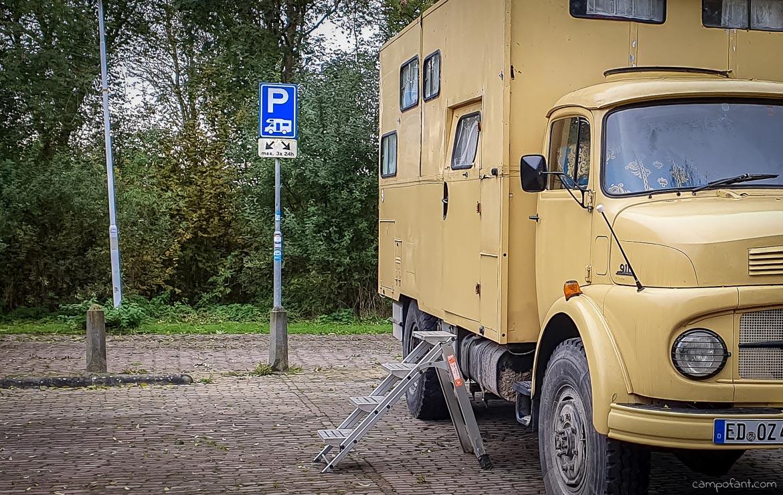 Niederlande Wohnmobil übernachten