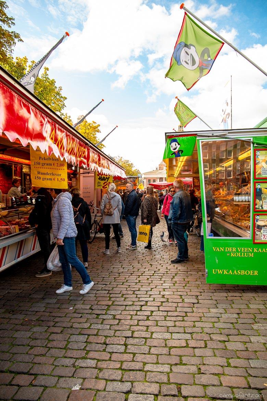 Wohnmobil Holland Wochenmarkt