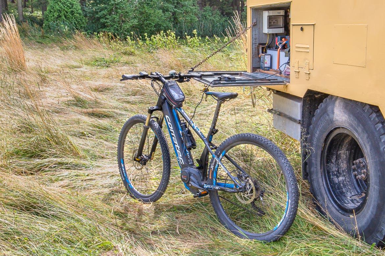 E Bike Handy Laden