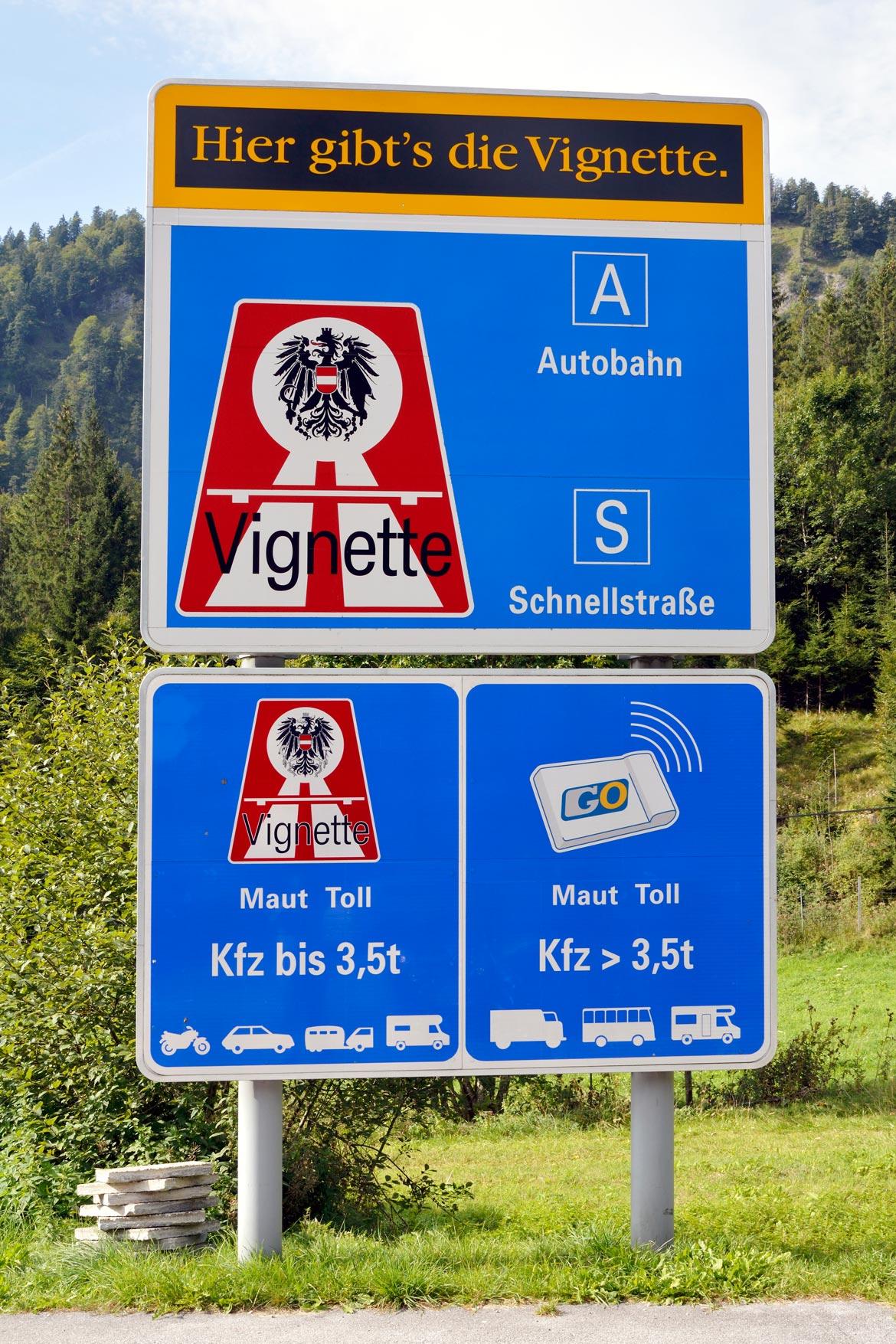 Maut Österreich Vignette Wohnmobil