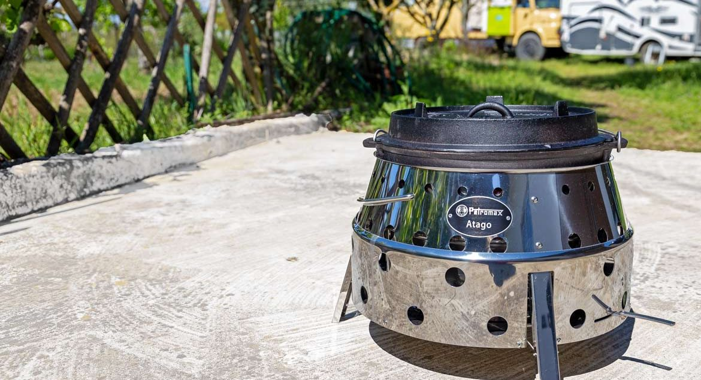 Petromax Atago Feuertopf Grillen