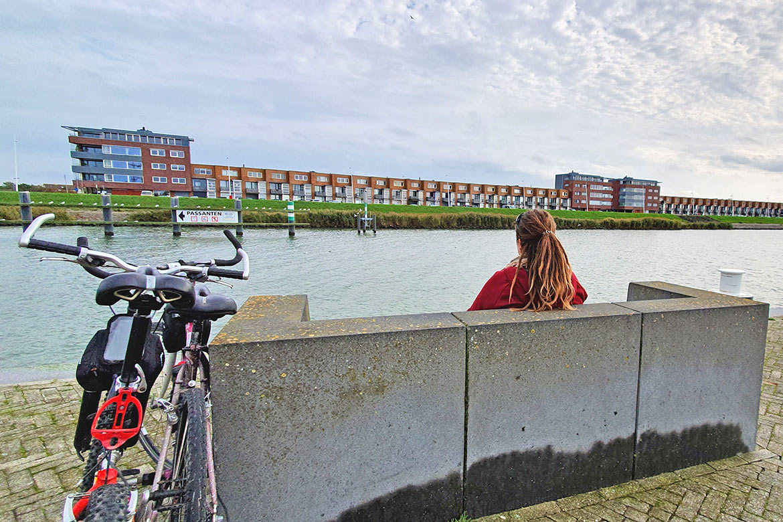 Lelystad Niederlande Radtour
