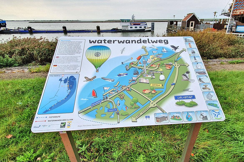Waterwandelweg Lelystad