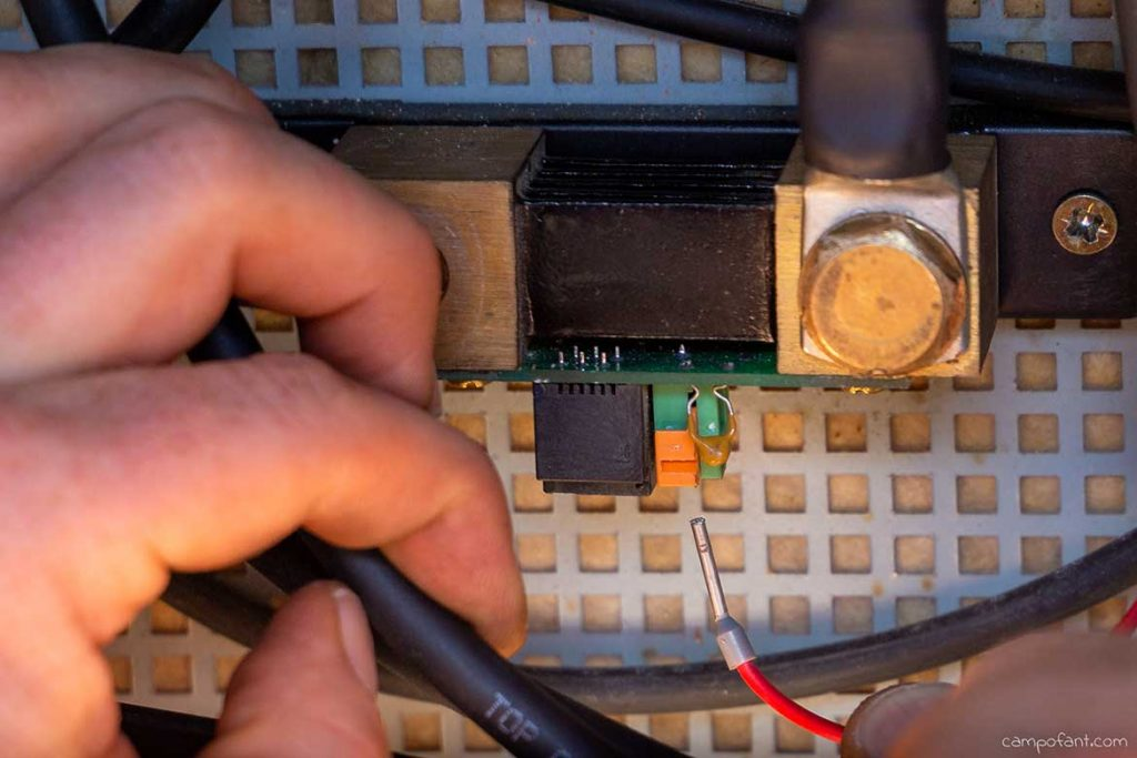 Batteriecomputer einbauen Schritt 4