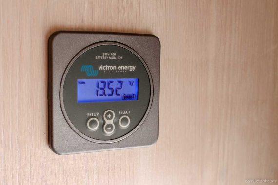 Batteriecomputer Wohnmobil Batteriemonitor