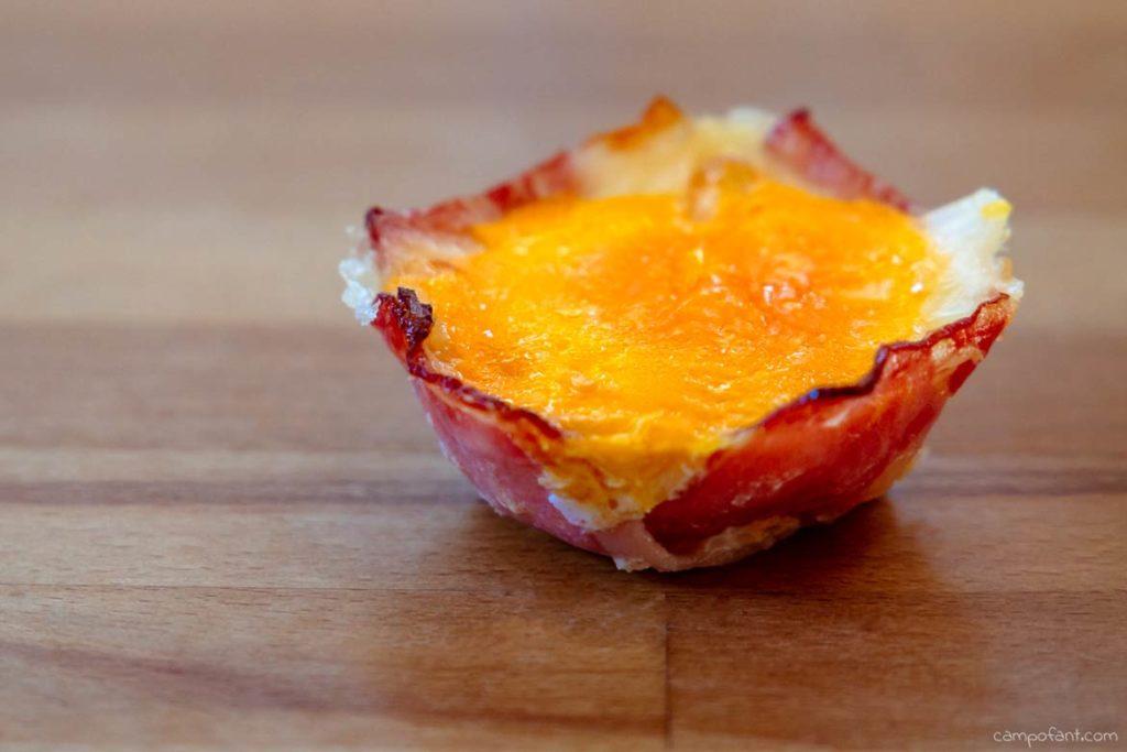 Omnia Rezept Speck-Muffin Frühstück