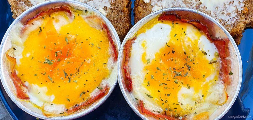 Speck Muffin Frühstück Omnia Backofen