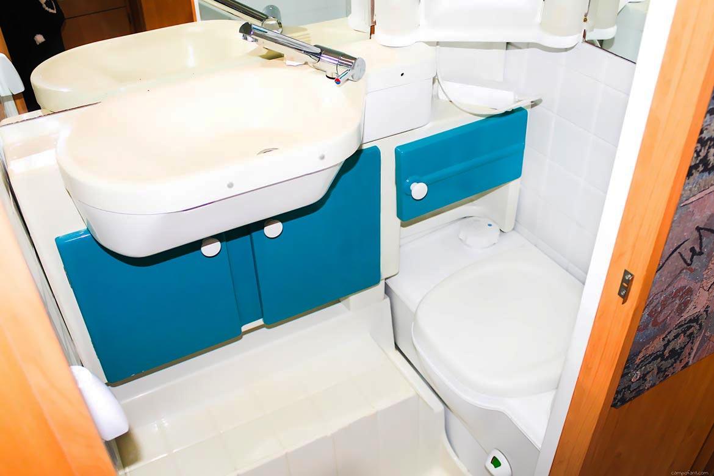 Selbstauflösendes Toilettenpapier Chemieklo