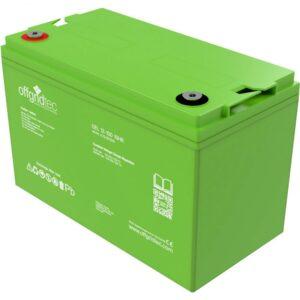100 Ah Gel-Batterie Offgridtec Versorgungsbatterie