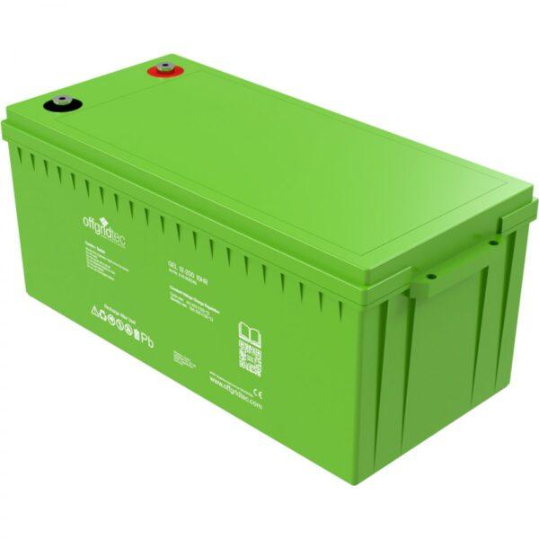 Versorgungsbatterie 200 Ah Offgridtec Gel