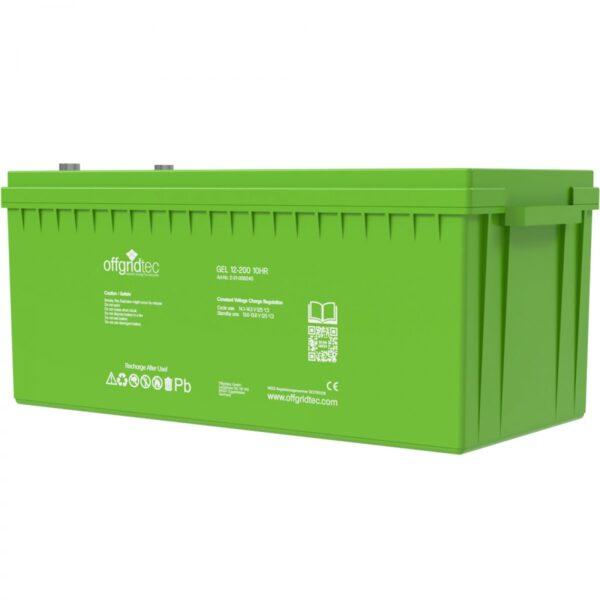 200 Ah Gel-Batterie Offgridtec 12V