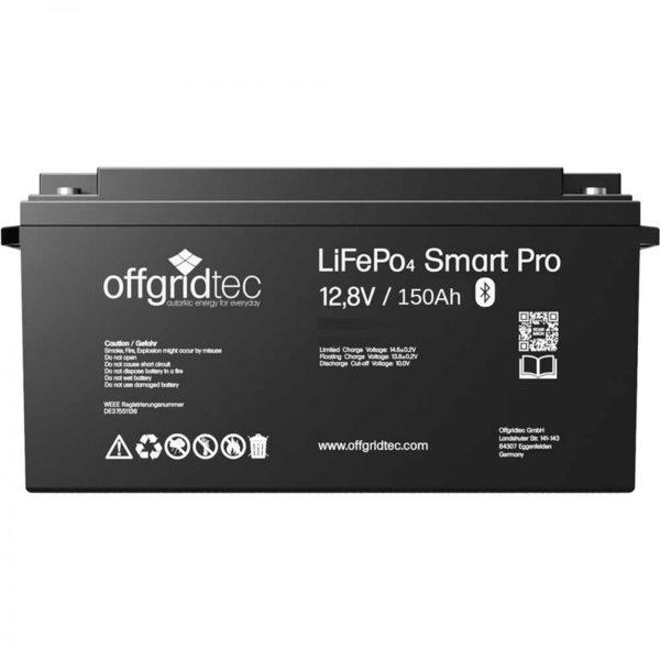 LifePO4 Batterie 150 Ah Offgridtec