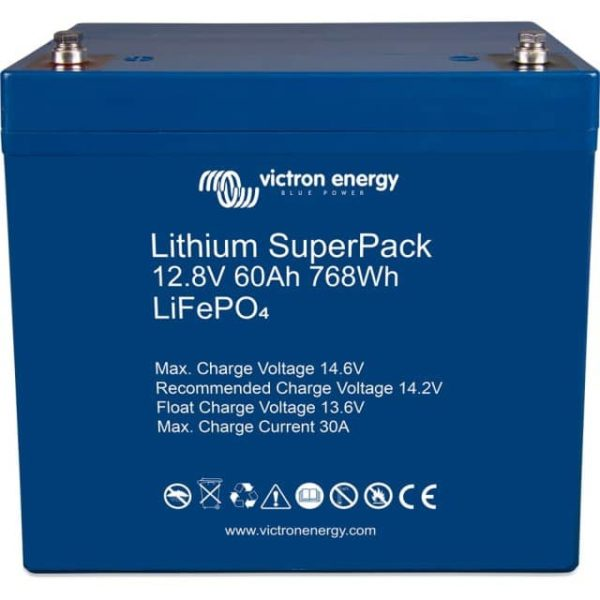 Lithium Batterie Victron 60 Ah Superpack