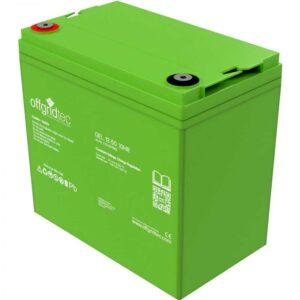Gel Batterie 50 Ah von Offgridtec