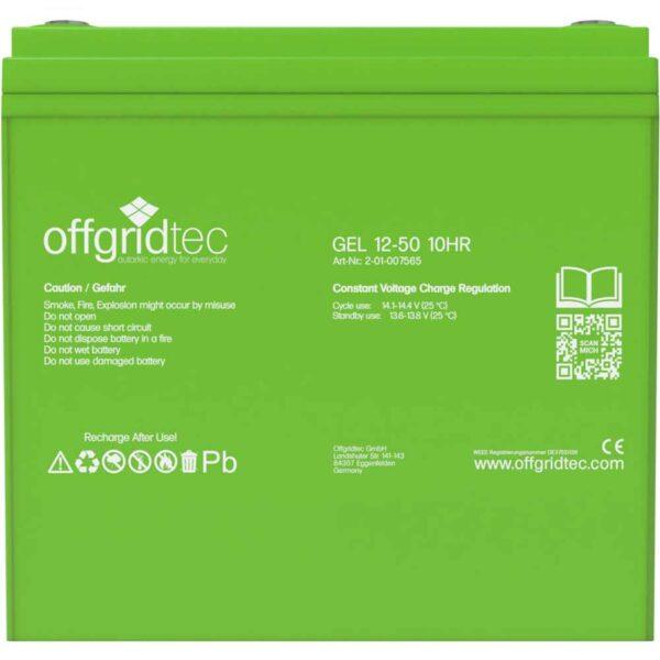 Gel Batterie 50 Ah
