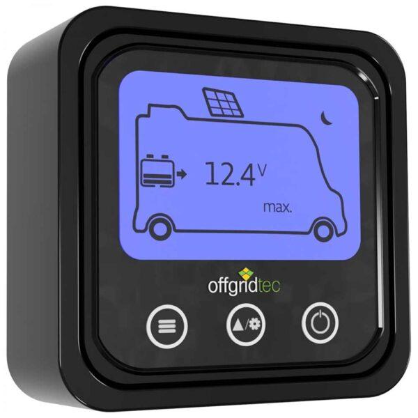 Wohnmobil Solarset MobileBlack mit MPPT Solarladeregler Offgridtec