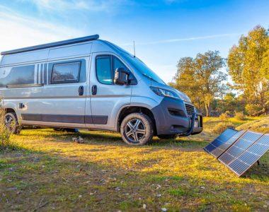 Mobile Solaranlage Solarkoffer Faltmodul
