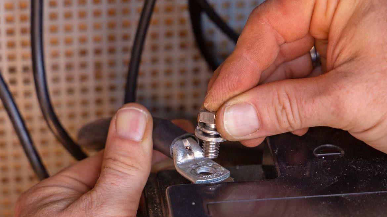 Batteriecomputer einbauen Schritt 8